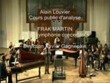 Frank Martin Petite Symphonie Concertante analyse d'Alain Louvier